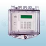 STI Polycarbonate Enclosure with Open Spacer for Flush Mount & Key Lock - STI-7510E