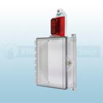STI Protective Enclosure with Siren/Strobe Alarm & Key Lock - STI-7524