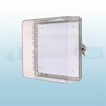 STI Polycarbonate Enclosure with Key Lock - STI-7530