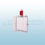 STI Protective Enclosure with Siren/Strobe Alarm & Thumb Lock - STI-7535