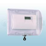 STI Large Thermostat Protector Flush Mount with Key Lock - STI-9110