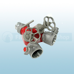 """2.5"""" Light Alloy Instantaneous Screw Valve Controlled Dividing Breeching"""