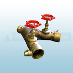 "2.5"" Light Alloy Instantaneous Ball Valve Controlled Dividing Breeching"