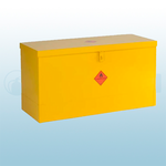 610 X 1170 X 457mm Flat Lid Dangerous / Flammable Substance Storage Bins