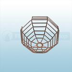 STI Steel Web Stopper, Surface Mount - STI 9605-SS Stainless Steel