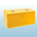 610 X 1170 X 457mm Sloped Lid Dangerous / Flammable Substance Storage Bins