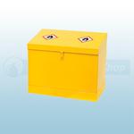 510 X 610 X 381mm Sloped Lid Dangerous / Flammable Substance Storage Bins