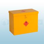 510 X 610 X 330mm Flat Lid Dangerous/ Flammable Substance Storage Bins