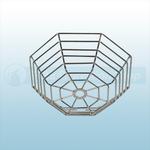 STI Steel Web Stopper, Low Profile, Flush Mount - STI 9601-SS Stainless Steel