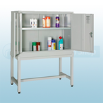 533 x 1220mm Chemical Storage Cabinet Stand