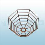 STI Steel Web Stopper, Low Profile, Flush Mount - STI 9604-SS Stainless Steel