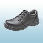 Black Micro-Fibre Tie Shoes