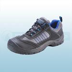 Black & Blue Dual Density Trainer Shoes