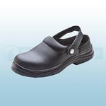 Black Micro Fibre Slippers