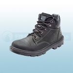 Black Mid-Cut Boots