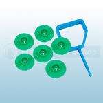 FireChief Blue Pin & Green Ok Indicator (Pack Of 25)