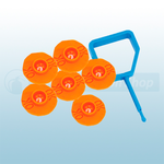 FireChief Blue Pin & Orange Ok Indicator (Pack Of 25)