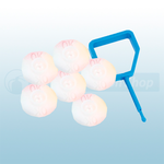 FireChief Blue Pin & White OK Indicator (Pack Of 25)