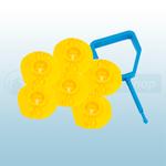 FireChief Blue Pin & Yellow Ok Indicator (Pack Of 25)