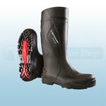 Black Purofort + Full Safety Wellingtons