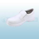 White Micro-Fibre Slip On Shoes