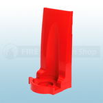 Single Red Modular Flat Pack Fire Extinguisher Stand