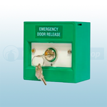 KAC Green 2 Position Emergency Door Release Keyswitch (Key Trapped) Call Point