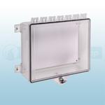 STI Polycarbonate Enclosure with Thumb Lock - STI-7521