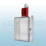 STI Protective Enclosure with Siren/Strobe Alarm & Thumb Lock - STI-7525