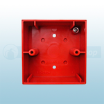Gent S4-34895 Vigilon Call Point Surface Back Box (Red)