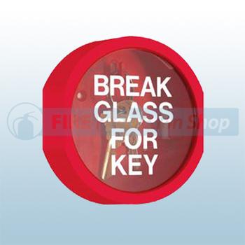 Mk2 Break Glass Key Box Emergency Plastic Break Glass