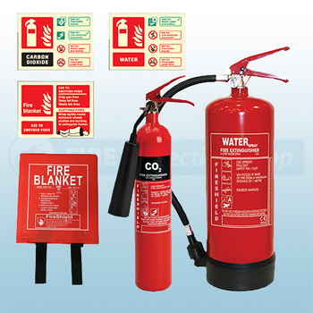 Small Shop / Hair Salon Fire Safety Pack